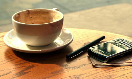 ranní kafke