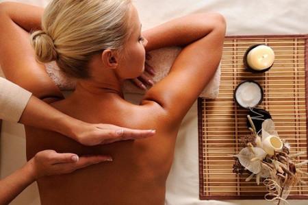 zázvor masáž